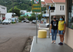 Vigilância Sanitária e Polícia Militar fiscalizam uso de máscara em Mondaí